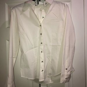 New w/o tags button down blouse